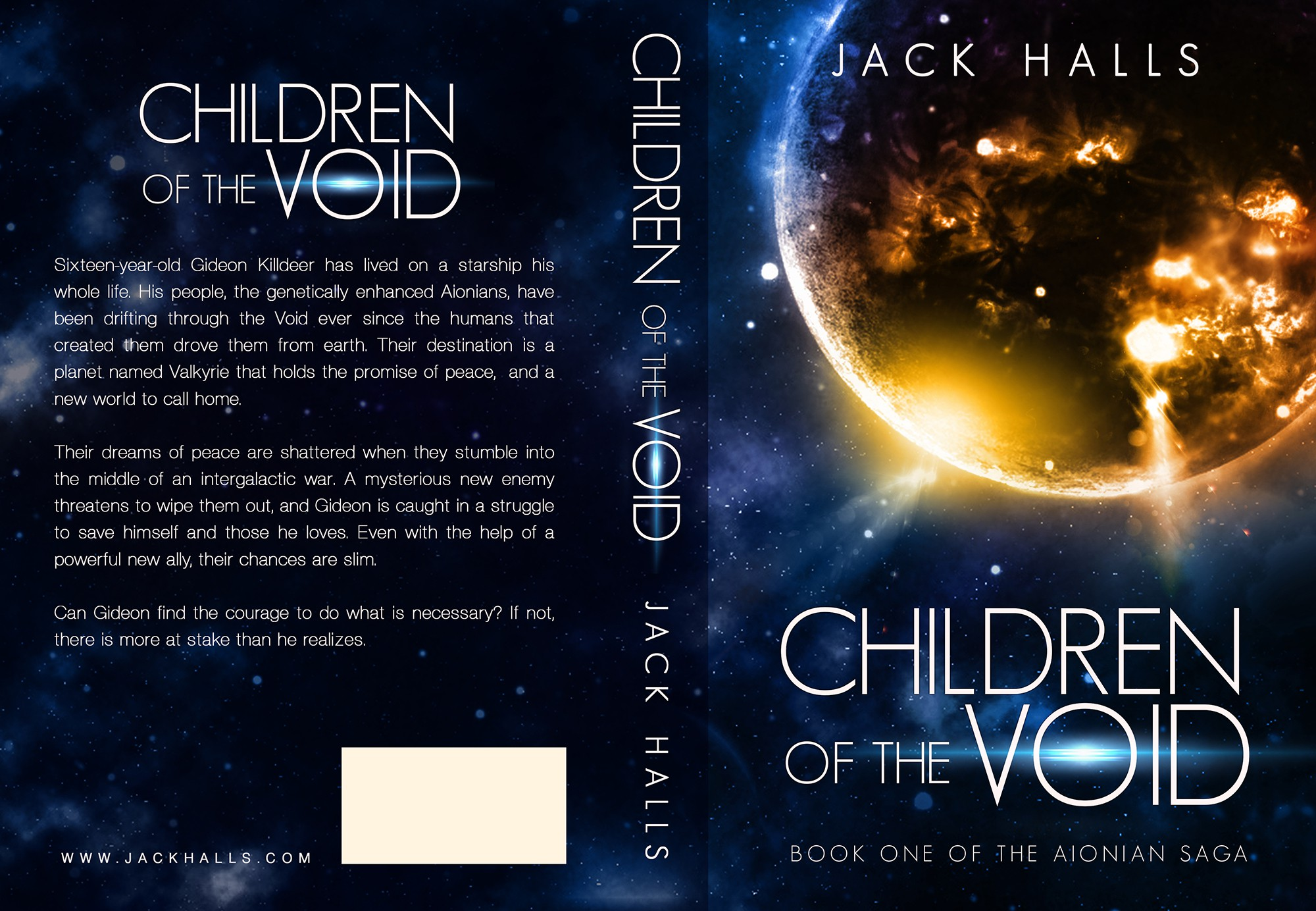 """Children of the Void"" Sci- Fi book cover design contest!"