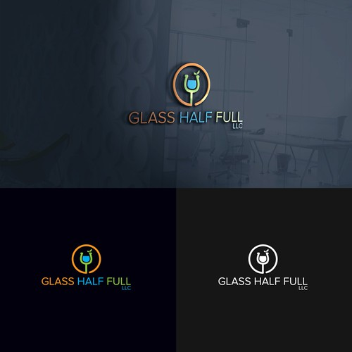 Logo for GLASS HALF FULL