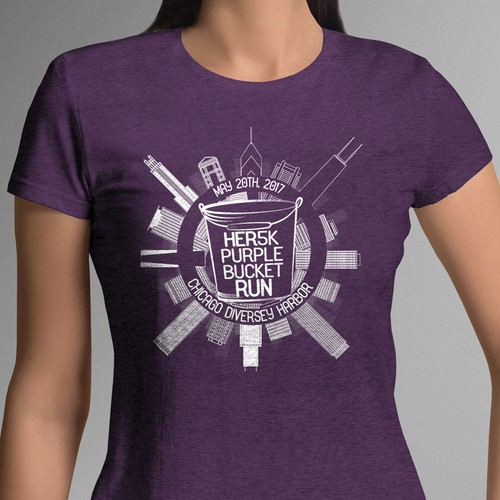 Unisex T-shirt design for the HER Foundation