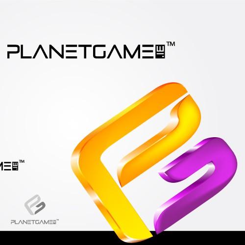 planet game logo