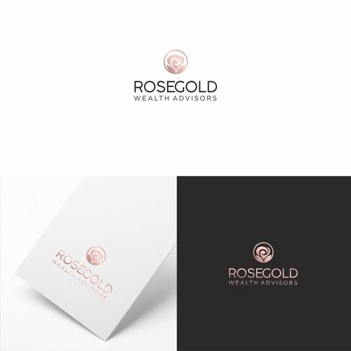 Elegant logo concept  for wealth advisors
