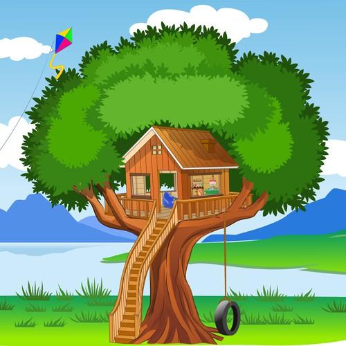 Tree house image