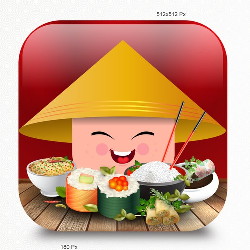 App Icon Winning Entry For Asian Chef