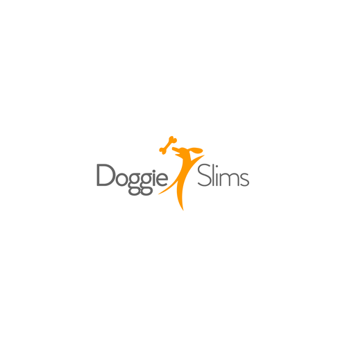 Create the next logo for Doggie Slims