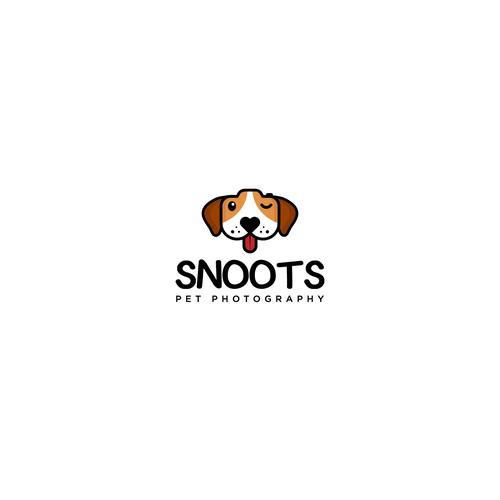Logo for  dog photographer