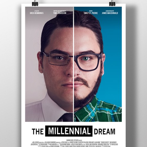 Poster documentary The Millennial Dream