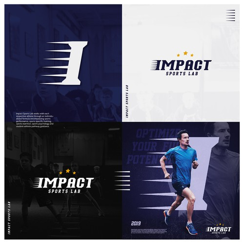 IMPACT SPORTS LAB Logo Design