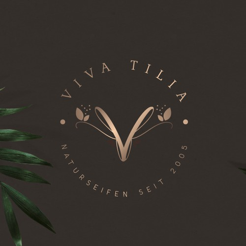 VivaTilia Logo Design
