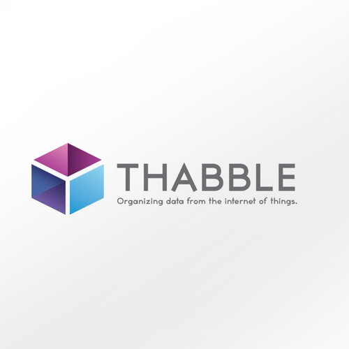 Logo for Thabble... the platform for the internet of things.