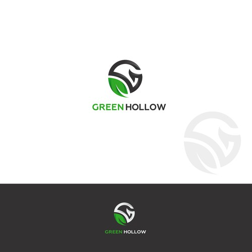 The green simple logo
