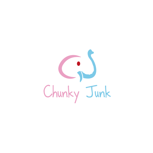 Create logo for ChunkyJunk - Buy a necklace LOVE an orphan