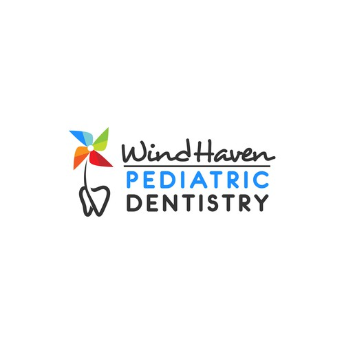logo for windhaven pedriatic dentistry