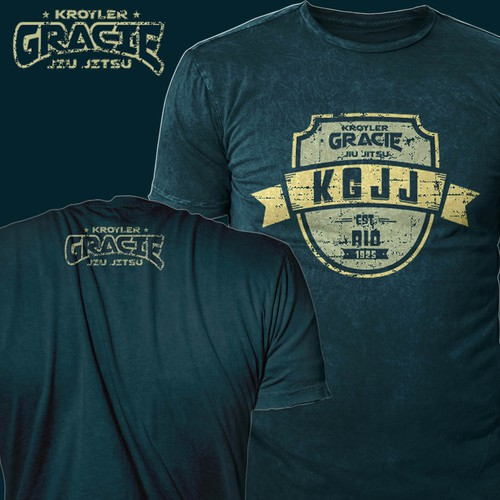 T-shirt design for Kroyler Gracie Jiu Jitsu
