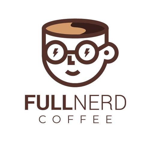 Nerd Coffee Logo