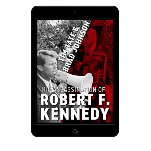 Dramatic e-book cover design