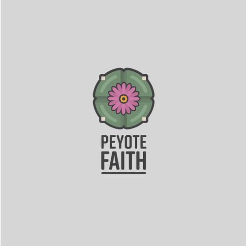 Logo concept for Peyote Faith
