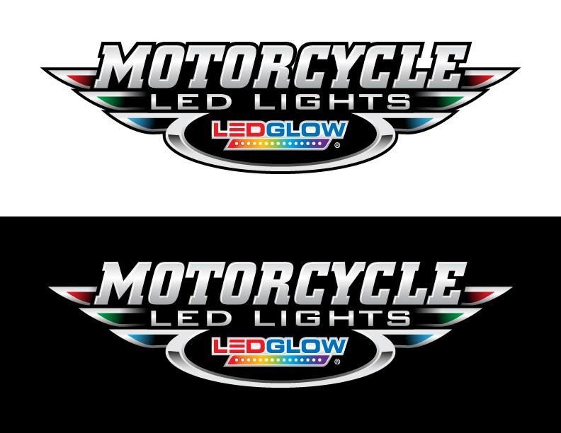 logo for LEDGlow Motorcycle LED Lights