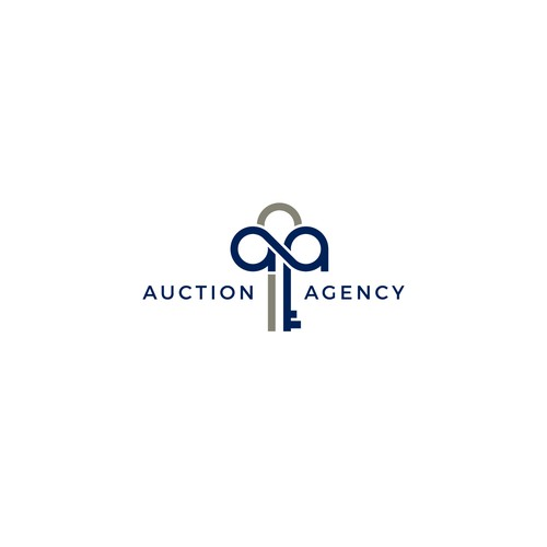 Logo concept for Auction Agency