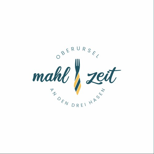 Logo design for mahl&zeit