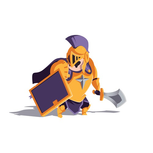 Cute Knight Character/Mascot