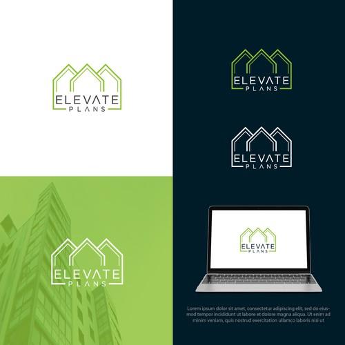 Elevate Plants logo design