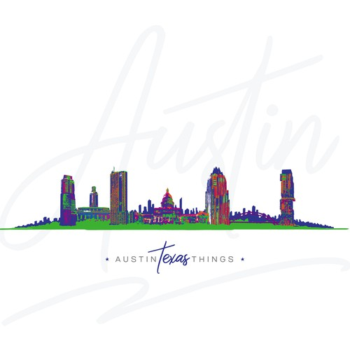 Skyline Design for Local Merchandise