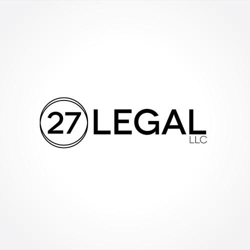 Create the next logo for 27Legal, LLC