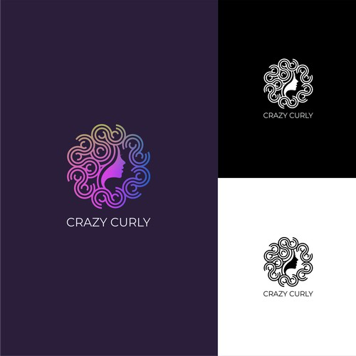 Crazy curly