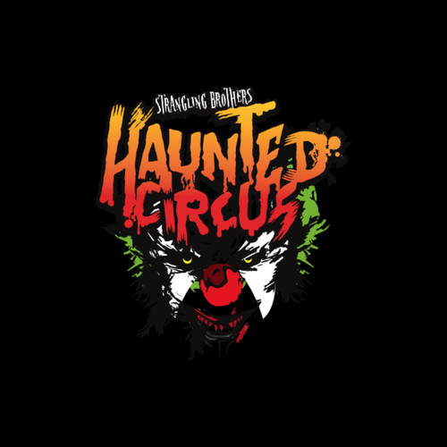 Logo for a Circus Themed Haunted House! Need something memorable, scary and attractive.