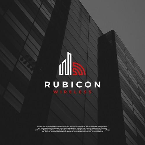 Bold logo design for a wireless company