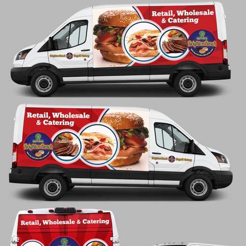 Car Wrap Branding for Brighton Beach Bagel & Bakery