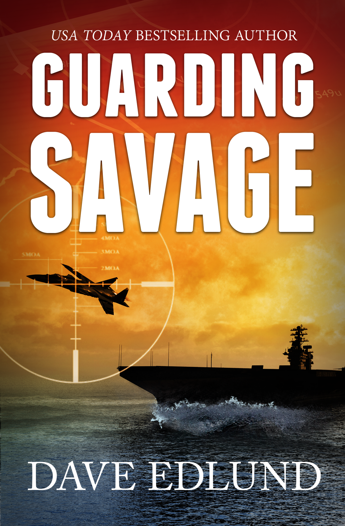 Add motion to water around ship on book cover