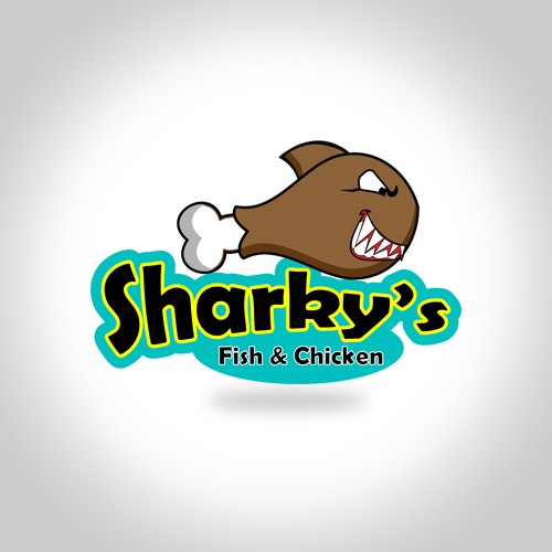 New logo wanted for Sharky's Fish & Chicken