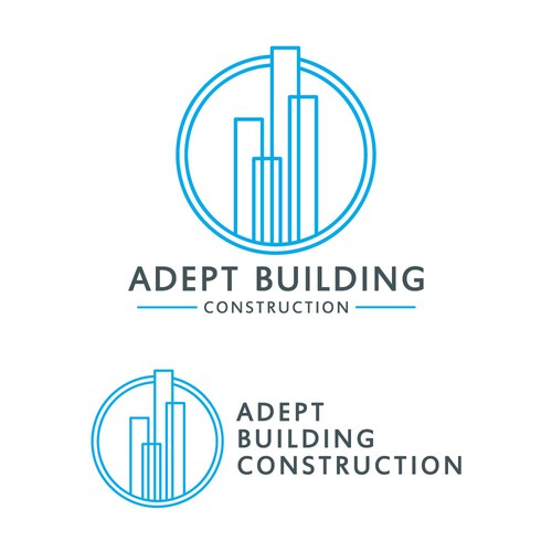 Logo concept for Adept Building Construction
