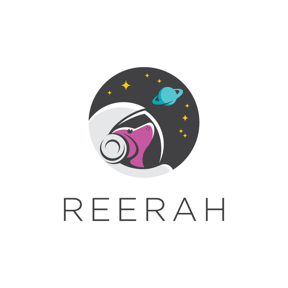 Ree Rah Logo Design (with possibly a Dachshund!)