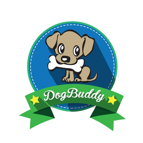 """Dog Buddy"" logo"