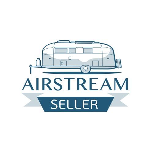 Retro Logo for Airstream Classified website