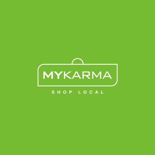 Logo and Branding for MyKarma - Shop Local