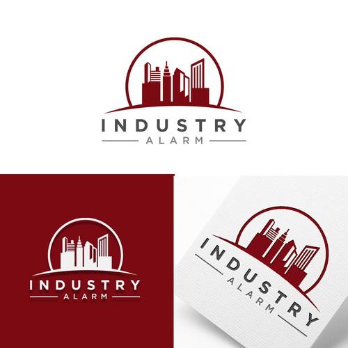 logo for industry alarm