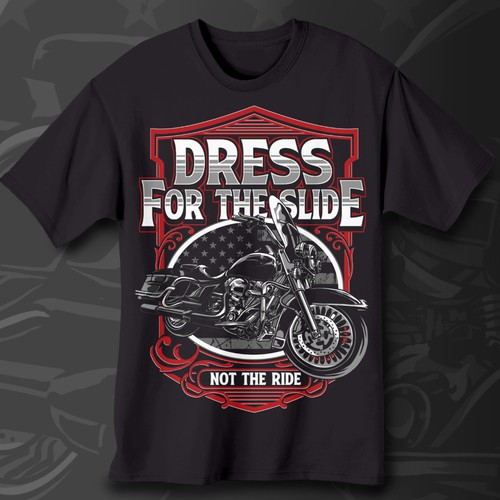 Biker Graphic T-shirt Design