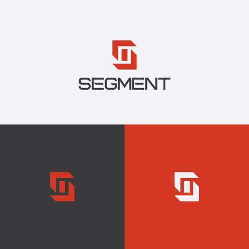 New modern logo design for SEGMENT