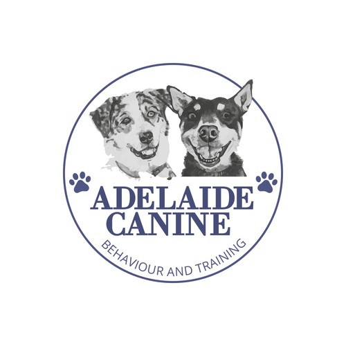 Logo for a Canine trainer