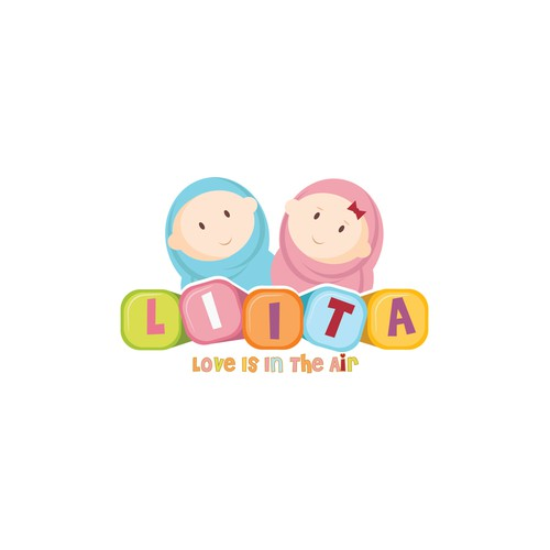 Logo concept for baby products