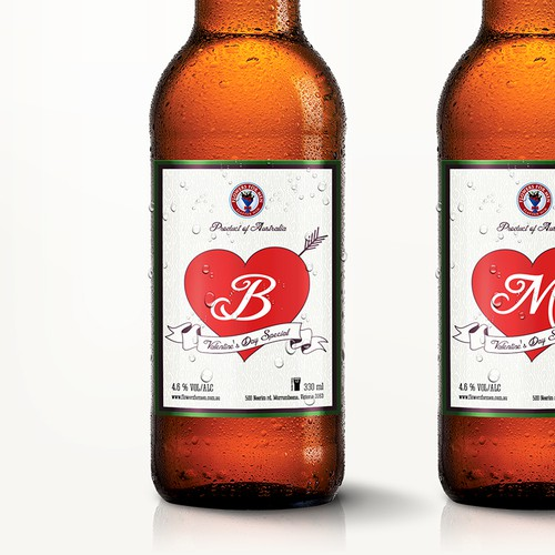 Limited Edition Beer Labels