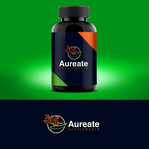 modern logo for supplements