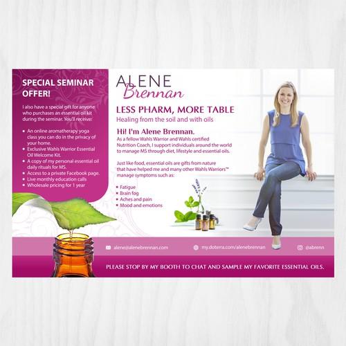Wellness Coach Ad for Essential Oils