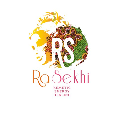 Logo for african/caribean healer