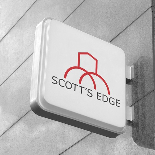 Logo needed for Trendy New Apartment Building SCOTT'S EDGE!