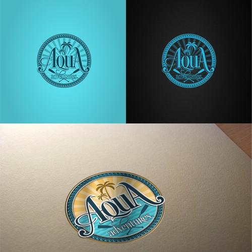 logo design for Aqua Adventures