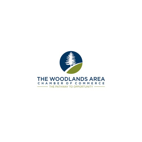 Logo for The Woodlands Area Chamber of Commerce
